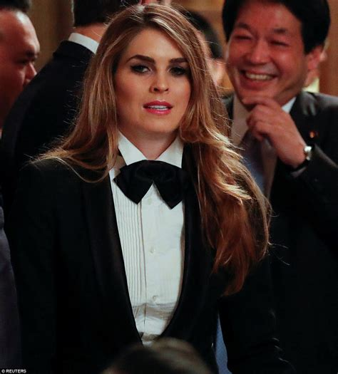Hope Hicks Tuxedo Outfit
