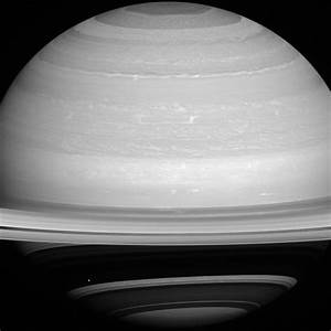 Dot Against the Dark - New Image of Saturn's Moon Mimas