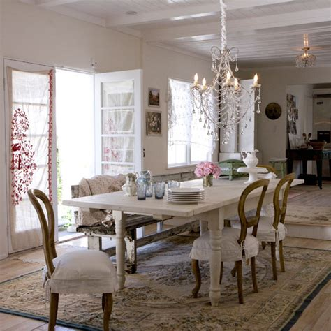 Shabby Chic Dining Room by Practical Living Shabby Chic Dining