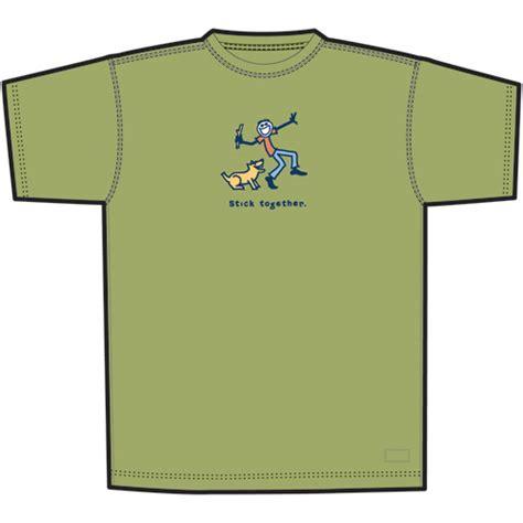 Life Is Good Men's Jake Stick Together T Shirt