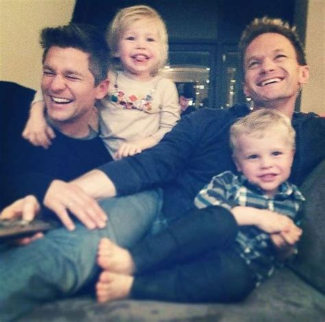 inside neil harris s sweet family reunion picture