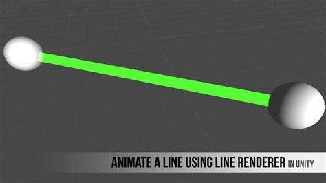 Animate a line draw using Line Renderer Component - YouTube