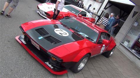 (HD) 420.000€ De Tomaso Pantera GT4 Racecar - YouTube