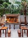 HOME DZINE Garden Ideas   DIY outdoor bar ideas restaurant outdoor patio bars