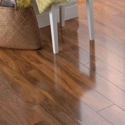 dolce walnut effect laminate flooring   pack departments diy  bq