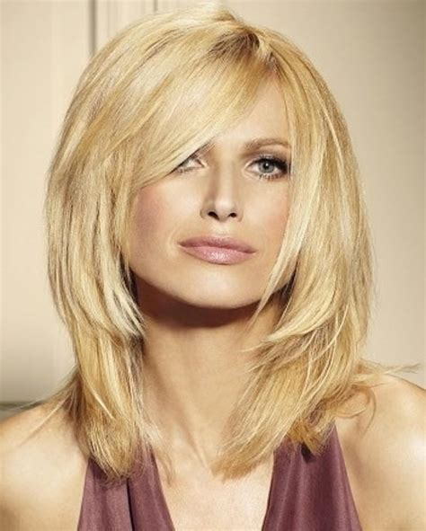 Hairstyles For With by Medium Length Layered Hairstyles The Xerxes