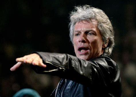 American Singer Songwriter Jon Bon Jovi His Nomination For