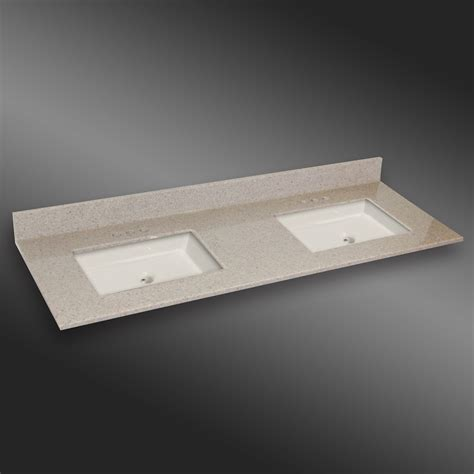 the marble factory 61 inch w x 22 inch d granite square