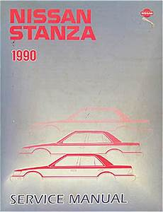 1990 Nissan Stanza Wiring Diagram Manual Original