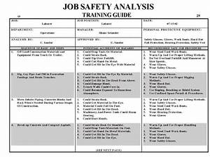 jsa form osha asliaetherairco With osha risk assessment template