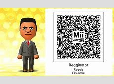 Tomodachi Life Mii QR Codes For Celebrities, Video Game