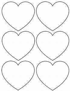 best photos of mini printable heart template free heart With small heart template to print