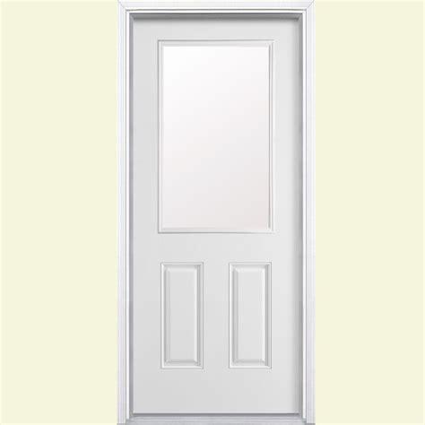half light door masonite 36 in x 80 in half lite primed smooth