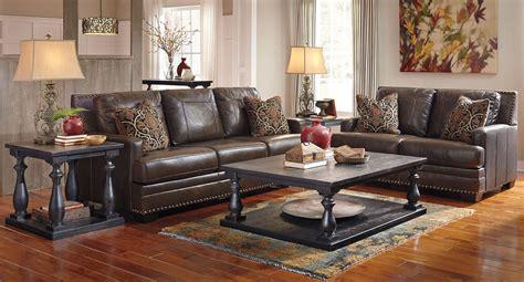 corvan antique living room set  signature design