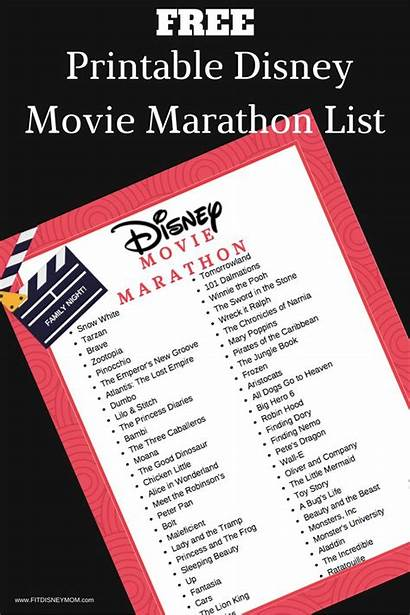 Disney Plus Night Marathon Bucket Movies Ultimate