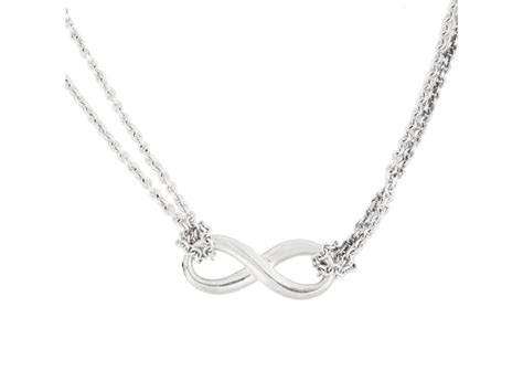 Tiffany & Co. Sterling Silver Infinity Pendant Necklace Chanel Jewelry Quality Fine Video Vacuum Cleaners Stands Michaels Park Lane Prices Parklane Catalog Rogers Trade In Madisonville Ky