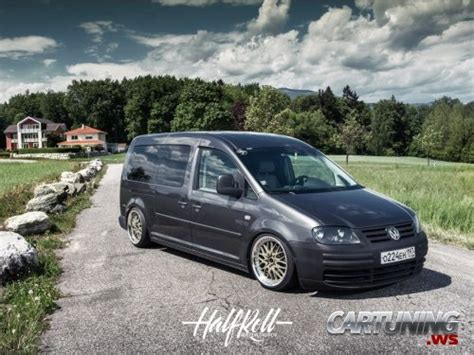 stanced volkswagen caddy maxi