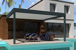 Pergola Bioclimatique Sur Mesure : pergola bioclimatique pergola bioclimatique design ~ Melissatoandfro.com Idées de Décoration