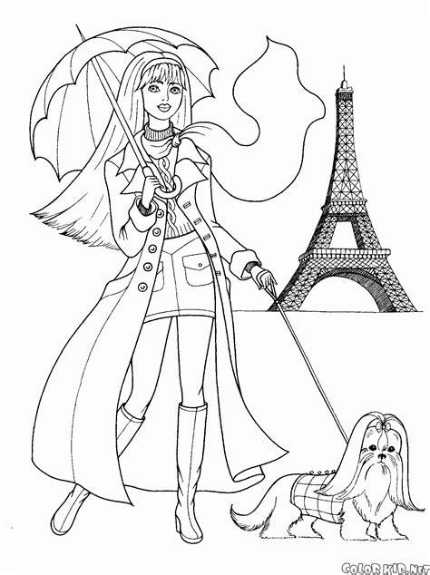disegni da colorare ragazze disegni da colorare ragazze alla moda