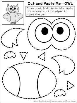 teach child   read  color cut  paste