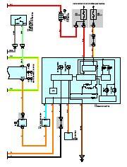 toyota kluger highlander wiring diagram and electrical