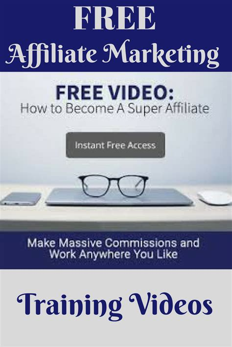 Free affiliate marketing training videos. These come ...