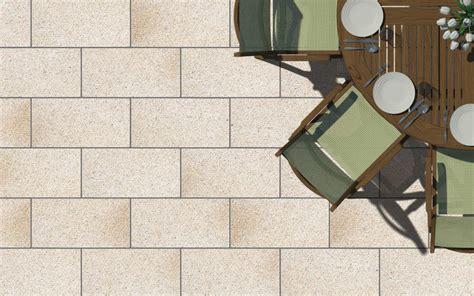 Yellow Granite Flag Paving Tile  Outhaus