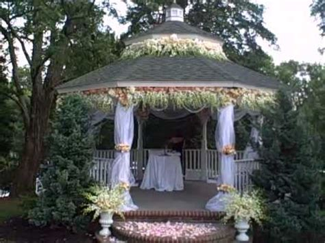 Wedding Day Gazebo and Aisle YouTube