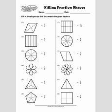 Worksheet Works Fillingfractionshapes1