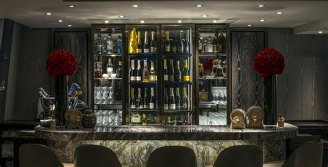 luxury champagne tasting experience   gong bar