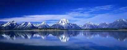 Monitor Dual Blu Montagne Doppio Mountains 1024