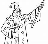 Potion Coloring Magician Colorear Coloringcrew Wizards sketch template