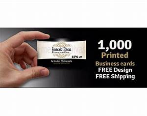 1000 business cards free design free shipping printed on for Business cards with free shipping