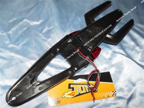 feu arri 232 re avec bavette et support de plaque tun r 224 leds