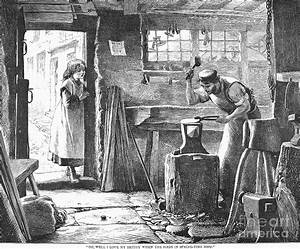 Blacksmith, 19th Century Photograph by Granger