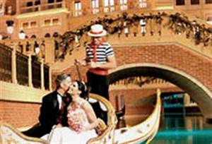 venetian wedding chapel weddings in las vegas With gondola wedding las vegas