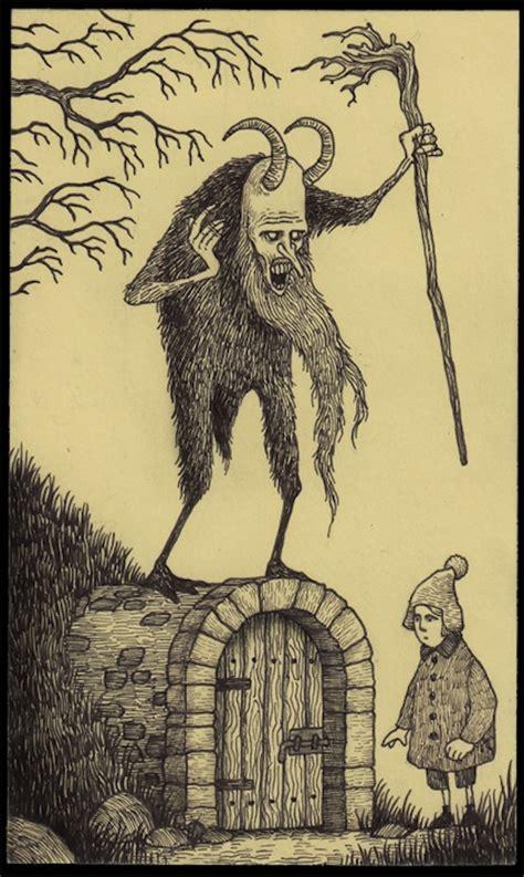 artist  terrifyingly detailed monster drawings