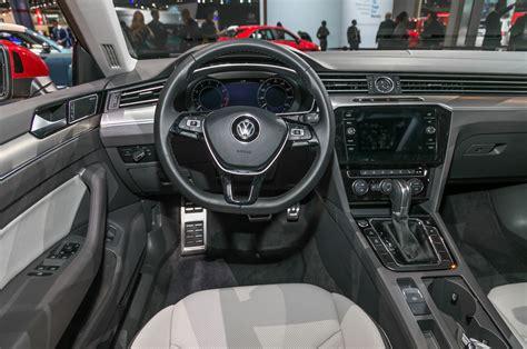 volkswagen arteon interior  motor trend en espanol