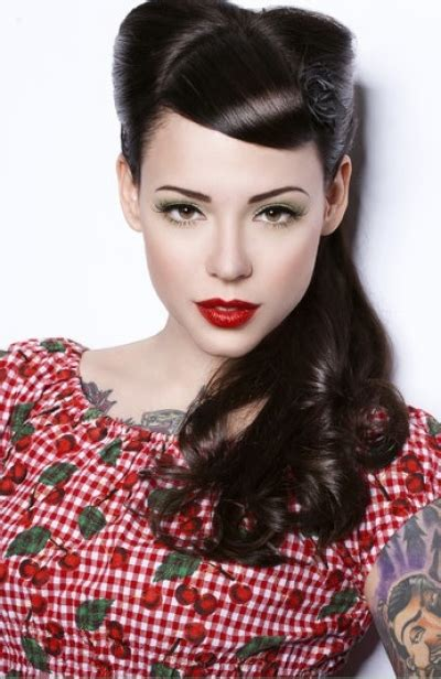Modern 1940s Hairstyles by Rockabilly Hairstyle 1940s Hair Styles