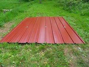 Bac Acier Point P : t les bac acier photo de l 39 abri de jardin bienvenue ~ Dailycaller-alerts.com Idées de Décoration