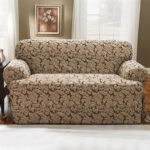 buy sure fit lexington t cushion loveseat slipcover in