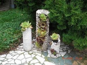 Blumenkübel Selber Machen : diy betons ule zum bepflanzen pflanzturm aus beton youtube beton pinterest ~ Markanthonyermac.com Haus und Dekorationen
