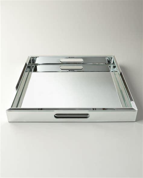 Reginaandrew Design Large Mirrored Tray
