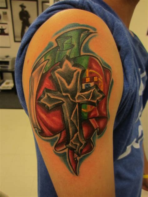Portugal Flag Tattoo Pictures To Pin On Pinterest Tattooskid