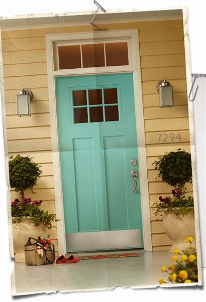 Door Colors Doors Egg Yellow Paint Exterior