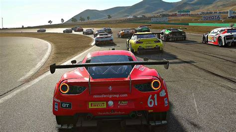 Project Cars 2  Gameplay Ferrari 488 Gt3 @ Willow Springs