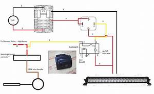 100 Series Landcruiser Spotlight Wiring Diagram