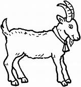 Goat Mountain Coloring Pages Bell Wearing sketch template