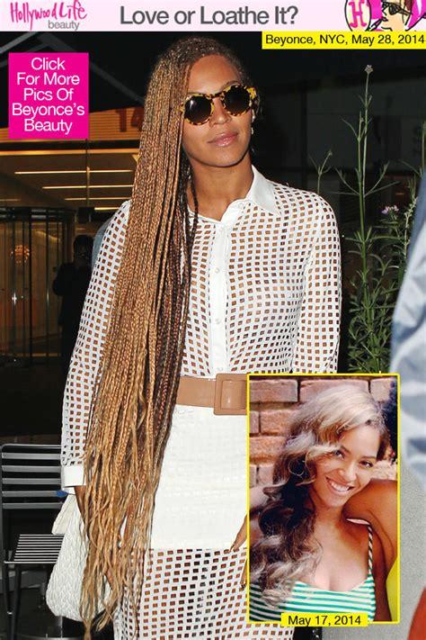 beyonces long braids love  loathe   hairstyle