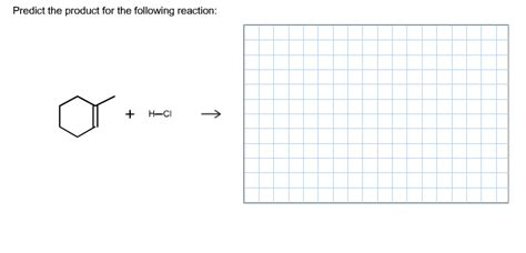 Solved Predict The Major Organic Product Of The Following